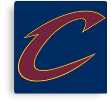 Cavs Canvas Print