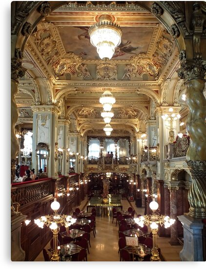 Meet Me for Coffee ~ New York Café ~ Budapest by Lucinda Walter