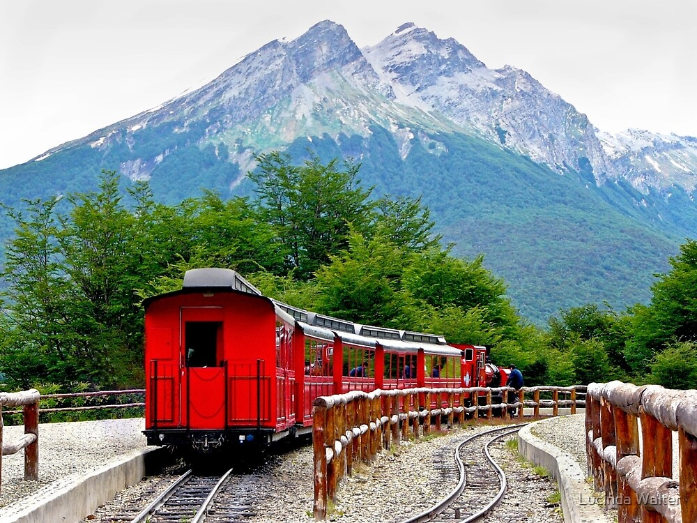 The End of the World Train by Lucinda Walter