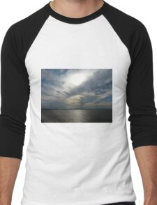 Clouds Over the Amazon River Men's Baseball ¾ T-Shirt