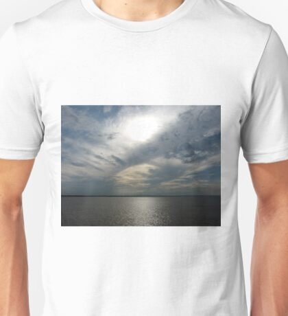 Clouds Over the Amazon River Unisex T-Shirt