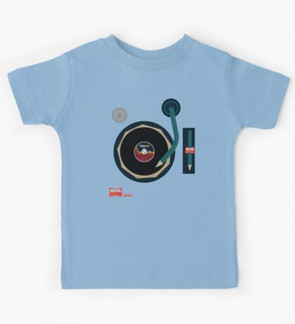 Vinyl Is *myart Kids Tee