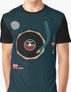 Vinyl Is *myart Graphic T-Shirt
