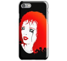 Shirley Manson in tears iPhone Case/Skin