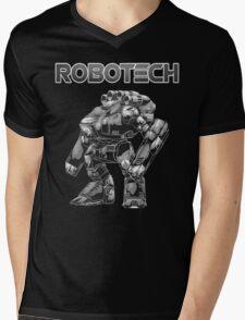 big robotech Mens V-Neck T-Shirt