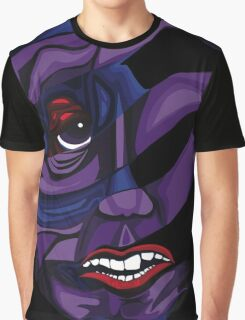 Fibromyalgia Mask Graphic T-Shirt