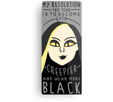 The Resolution  Metal Print
