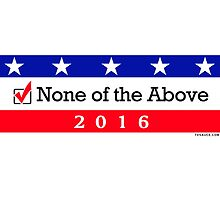 None of the Above: 2016 by TVsauce