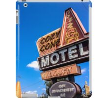 Gettin Cozy at the Cone iPad Case/Skin