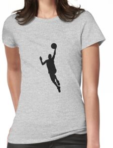 Basketball player Womens Fitted T-Shirt