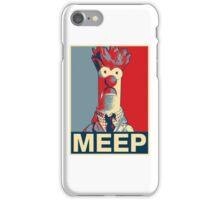 Beaker Meep Poster iPhone Case/Skin