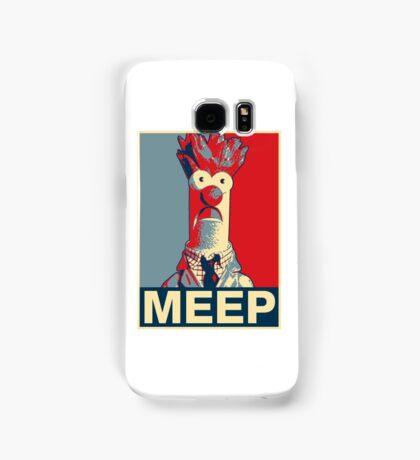 Beaker Meep Poster Samsung Galaxy Case/Skin