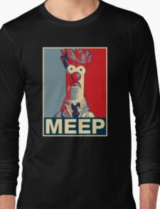 Beaker Meep Poster Long Sleeve T-Shirt