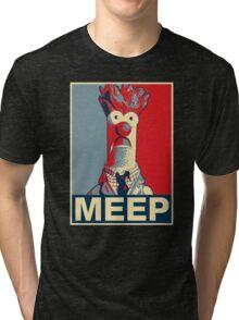 Beaker Meep Poster Tri-blend T-Shirt