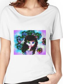 Green-Eyed Cutie Pie 5-20-16 Women's Relaxed Fit T-Shirt