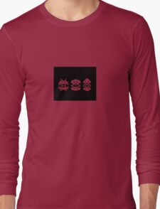 Space Invaders - Aliens Long Sleeve T-Shirt