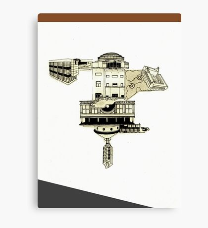 dreamhouse 5 Canvas Print