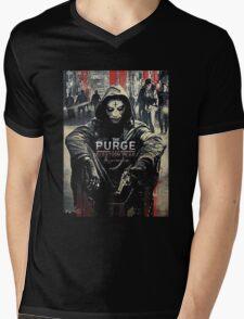 The Purge Election year begin Mens V-Neck T-Shirt