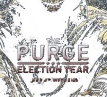 The Purge Election year begin Sticker