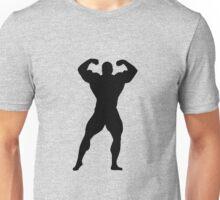 Silhouettes bodybuilders Unisex T-Shirt
