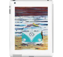 'SURFIN LIFE' VW Kombi Camper Van   iPad Case/Skin