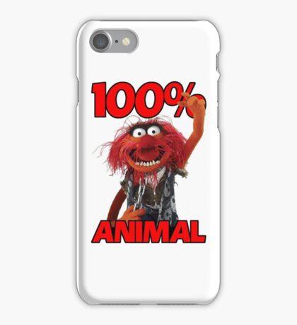 Muppets 100 Animal oder Geburtstagsgeschenk iPhone Case/Skin