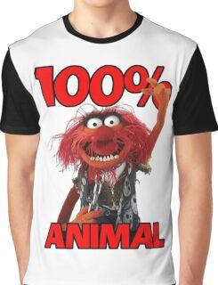 Muppets 100 Animal oder Geburtstagsgeschenk Graphic T-Shirt
