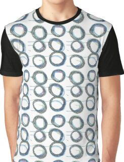 Have Some Dripping Blue Circles Graphic T-Shirt