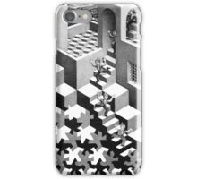Men on Stairs  iPhone Case/Skin