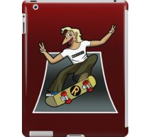 Pat The Skateboard Cat iPad Case/Skin