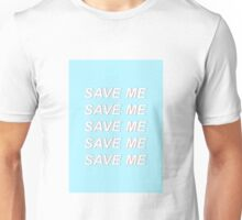 bts typography [ save me ] Unisex T-Shirt