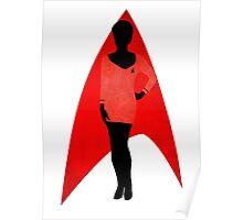 Star Trek - Silhouette Uhura Poster
