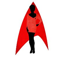Star Trek - Silhouette Uhura Photographic Print