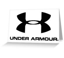 Under Armour Greeting Card