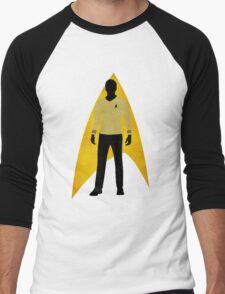 Star Trek - Silhouette Kirk Men's Baseball ¾ T-Shirt