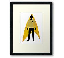 Star Trek - Silhouette Kirk Framed Print