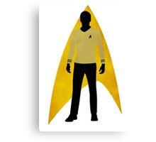 Star Trek - Silhouette Kirk Canvas Print