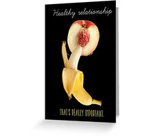 forbidden fruits Greeting Card