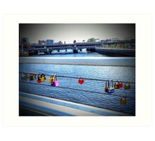 The Lock of Love 2 Art Print