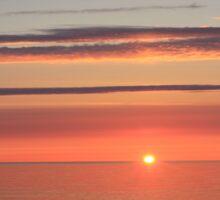 Morning At Parlee Beach, Shediac 001 Sticker
