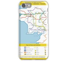 Routemap of Middle Earth iPhone Case/Skin