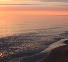 Morning At Parlee Beach, Shediac 003 Sticker