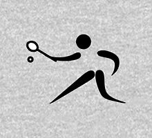 Olympic sports racquets pictogram Unisex T-Shirt