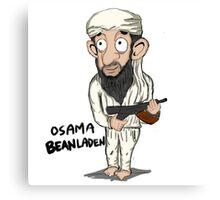 Osama guns. Canvas Print