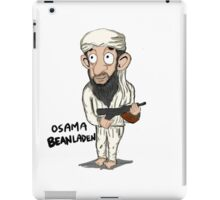 Osama guns. iPad Case/Skin