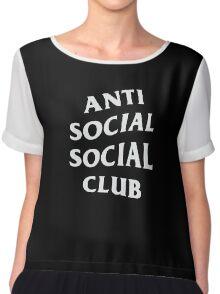 Anti Social Social Club Chiffon Top