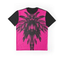 Palm Tree - Pink Sky Graphic T-Shirt