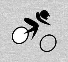 Olympic sports cycling bmx pictogram Unisex T-Shirt
