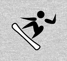 Olympic sports snowboarding pictogram Unisex T-Shirt