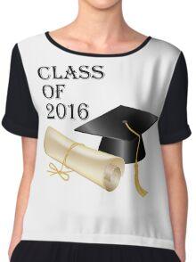 Class of 2016 Chiffon Top